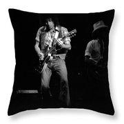 Marshall Tucker Winterland 1975 #39 With Elvin Throw Pillow