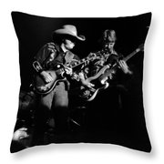 Marshall Tucker Winterland 1975 #4 Throw Pillow