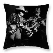 Marshall Tucker Winterland 1975 #4 Crop 2 Throw Pillow