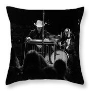 Marshall Tucker Winterland 1975 #58 Throw Pillow