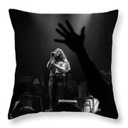 Marshall Tucker Winterland 1975 #6 Crop 2 Throw Pillow