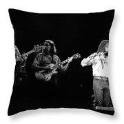 Marshall Tucker Winterland 1975 #7 Throw Pillow