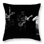 Marshall Tucker Winterland 1975 #8 Throw Pillow
