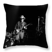 Marshall Tucker Winterland 1975 #9 Throw Pillow