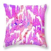 Marshmallow Mountain Throw Pillow