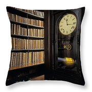 Marshs Library, Dublin City, Ireland Throw Pillow