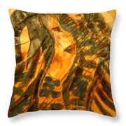 Martha And Babe - Tile Throw Pillow