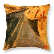 Marthas Hope - Tile Throw Pillow