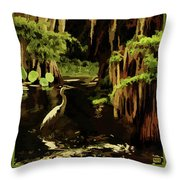 Martin Dies Jr. State Park Throw Pillow