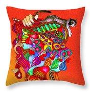 Martin-hardy-dinaminx-10 Throw Pillow