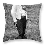 Martin Heidegger (1889-1976) Throw Pillow