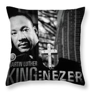 Martin Luther King Day Throw Pillow