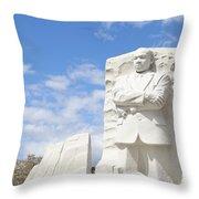 Martin Luther King Dc Memorial Throw Pillow