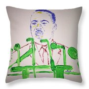 Martin Luther King Throw Pillow