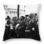 Martin Luther King, Jr Throw Pillow