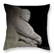 Martin Luther King, Jr. Memorial Throw Pillow
