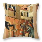 Martini: St. Augustine Throw Pillow