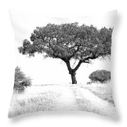 Marula Tree Throw Pillow