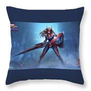 Marvel Future Fight Throw Pillow