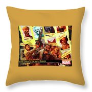 Marvel Zombies Throw Pillow