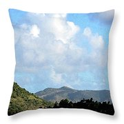 Marvellous Clouds Throw Pillow