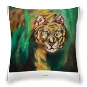 Marvelous Glimpse Throw Pillow