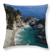 Marvelous Mcway Falls Throw Pillow