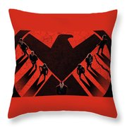 Marvel's Agents Of S.h.i.e.l.d. Throw Pillow