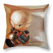 Marvin, Paranoid Android In A Box Throw Pillow