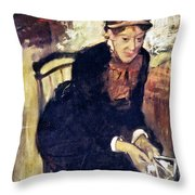 Mary Cassatt (1845-1926) Throw Pillow