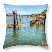 Mary D. Hume Throw Pillow