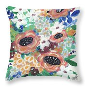Mary Delores Throw Pillow