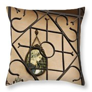Mary Enclosed Throw Pillow