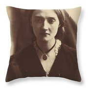 Mary Fisher Throw Pillow