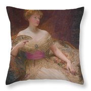 Mary Frances Mackenzie Throw Pillow