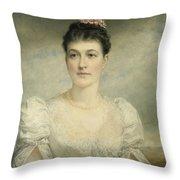 Mary Gardiner Thompson Throw Pillow