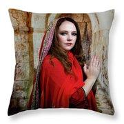 Mary Magdalene Throw Pillow