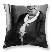 Mary Mcleod Bethune Throw Pillow by Granger