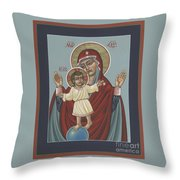 Mary, Mother Of Mercy - Dedicated To Pope Francis In This Year Of Mercy 289 Throw Pillow