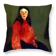 Mary Of Connemara 1913 Throw Pillow