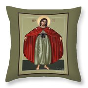 Mary Of The Magnificat Mother Of The Poor 091 Throw Pillow