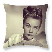 Mary Stuart, Vintage Actress Throw Pillow