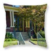 Mary Todd Lincoln's Birthplace Throw Pillow