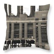 Marysville Michigan Dte  Throw Pillow