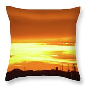 Maryvale Goldrise Cvs Throw Pillow