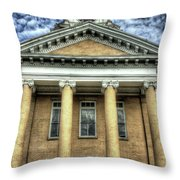 Maryville Tennessee Courthouse  Throw Pillow