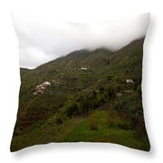 Masca Valley And Parque Rural De Teno 5 Throw Pillow