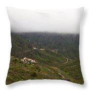 Masca Valley And Parque Rural De Teno 7 Throw Pillow