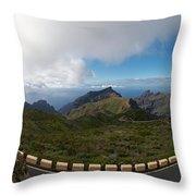 Masca Views 2 Throw Pillow