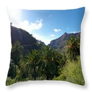 Masca Views Throw Pillow
